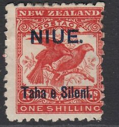 Niue Cook Islands Stamp Sg 16 Scott 13a Bright Red - Mounted Mint