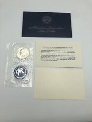1972-s Eisenhower Uncirculated 40 Silver Dollar Coin With Envelope