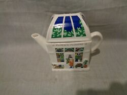 Florie's Flowers, A Floral Teapot By English Life Teapots, Wade, England