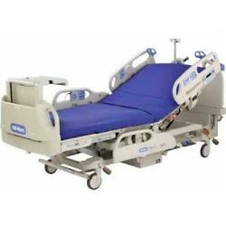 HILL-ROM VERSACARE FULL ELECTRIC HOSPITAL BED WITH BED-SIDE TABLE (USED)