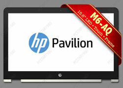 Hp Envy M6-aq003dx 15.6 Led Lcd Touch Screen Digitizer Bezel Frame Silver Fast