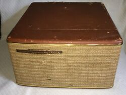 Vintage Rca Victor Dual Amplifier Stereo-orthophonic High Fidelity Record Player