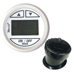 Faria Beede Instruments 13151 2 Depth Sounder Dress White In-hull Mounted