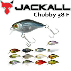 Jackall Bros. Chubby 38 F Floating Petit Crank Bait 38mm 4.0g More Colors