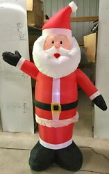 7ft Gemmy Airblown Inflatable Prototype Christmas Santa 39570