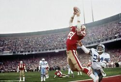 Dwight Clark The Catch Nfl Football Poster 24 X 36 Inch