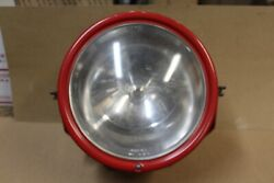 Emergency Vintage 11 Red Dietz Headlight Or Spot Light 1920and039s - 1930and039s