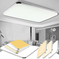 Led Ceiling Down Light Ultra Thin Flush Mount Kitchen Lamp Home Fixture Dimmable