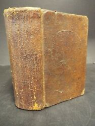 1812 K J Conn. Bible, 2nd Ed. Printed In Hartford. Known As The School Bible.