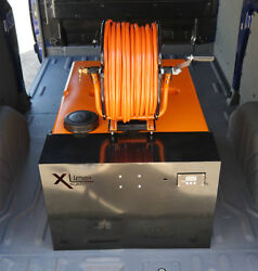 350ltr Wfp Window Cleaning System + 500gpd R/o + 4ltr D/i + Metal Reel And Hose