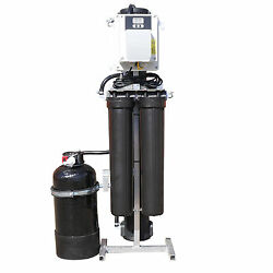 Xline 2000gpd Auto Flush And Fill Static 4-stage R/o Pure Water Filtration System