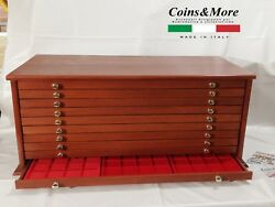 Money Chest Medals Table 10 Drawer 30 Trays For Coinsandmore Coin Cabinet