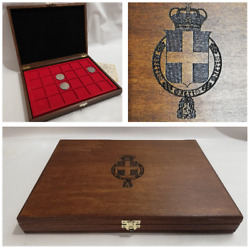 Boxset Kingdom D'italia Pouch For Coins With 2 Trays Coin Case Coinsandmore