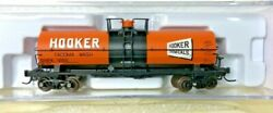 Deluxe Innovations N Scale 11,000 Gallon Tank Car Hooker Chemical Shpx 1282