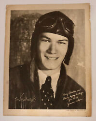 Jimmie Allen 1934 Radio Show Pilot Christmas Photo Skelly Oil Co.