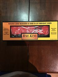 Rail King New Haven Modern Reefer Car Mth 30-7875 Brand New O Scale Train