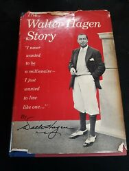 The Walter Hagen Story With Rare Signed Inscription 1956 1st Printing Jsa Cert