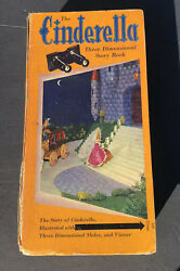 Antique The Cinderella Three Dimensional Story Book View Finder