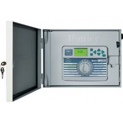 Hunter I-core 6 Zone Outdoor Controller Ic-601-pl Plastic Cabinet Usa Brand