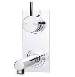 Sussex Scala Bath Mixer Outlet System Vertical Australian Made- 200mm Or 250mm