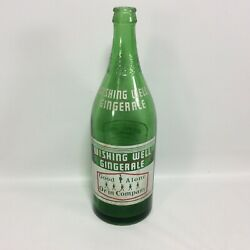Wishing Well Ginger Ale 30 Oz Green London Ontario Canada National Dry