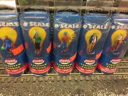 Lot Of 5 Model Power Lighted Figures O Scale