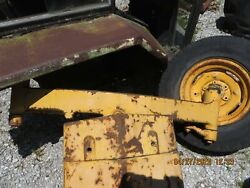 J D John Deere 400 Tractor Front Support,axle, Spindles, Steering Arms And Hubs