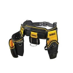 Dewalt Heavy Duty Tool Apron Pouch Integrated Metal Clip Tape Holder Usa Brand