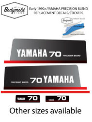 Yamaha 70hp 1990and039s Precision Blend Replacement Outboard Decals