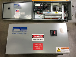 Smart-move 3-phase A.c. Pwm Variable Speed Drive W/ Gang-set, Msm2ar Pannel Box
