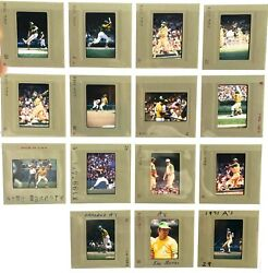 1960and039s 1970and039s Major League Baseball Professional Photographer Slides Team Lots