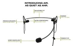 Faro Air Lightweight In-ear Pilot Headset Stereo/mono Switchable W/music Input