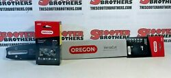 20 Oregon Chainsaw Bar 200vxlhd025 And Chain For Stihl 039 041 Ms 290 291 391