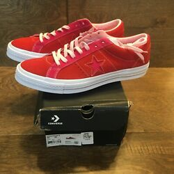 Converse Unisex One Star Ox Low Top Sneakers Shoes Mens 12 Womens 14 Brand New