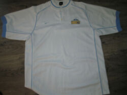 Vtg Nike Denver Nuggets White Authentic Edition Sewn Shooter Shirt Jersey-l+cap