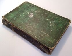 A Tale Of Two Cities, Charles Dickens, 1866 Antique Hardback
