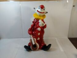 Universal Statuary Corp Chicago 1979 Clown With Guitar 15 Figure Statue Hd1979