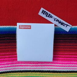 New Supreme Post It White Fw14 Sticky Office Note Pad Box Logo Rare 3 In X 3 In