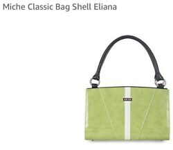Authentic Michebrand Newsealedretired Elianalime Green ❤️classic Shell