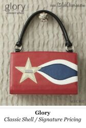 Authentic Michebrand Newsealedglory❤️classic Shellunopenedred,white And Blue