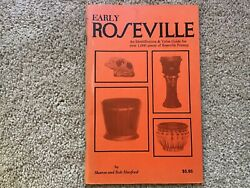 Early Roseville - Sharon/bob Huxford - Htf Value Guide - Pictures - Pottery Pb
