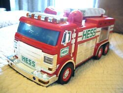 2005 Hess Emergency Truck With Rescue Vehicle Truck Only No Box Was Display