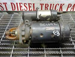 Used Wilson 12v Starter From 1996 Cummins 8.3l Out Of A 1997 Ford Cargo Truck