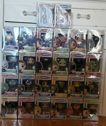 Pop Funko Fortnite Retired Rare Complete Set Of 26 Wave 1and2 With Exclusives