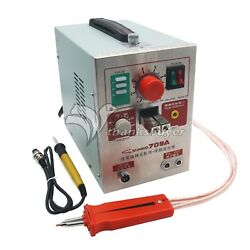 S709a 2 In 1 Battery Pulse Spot Welder And Soldering Station With Welding Pen 70b