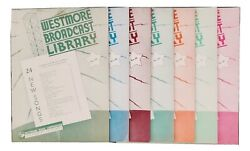 7 Westmore Broadcast Library Songs Books Words And Music, Piano, Guitar, Banjo