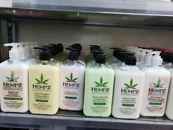 Hempz Pure Hand And Body Lotion 17oz Line Choose.fast Ship H New