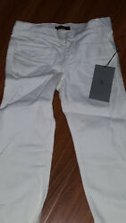 New wtag - 7 for all mankind Children's Georgia White Girls' Flare Jeans Sz 5