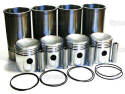 Piston/ring/liner Kit For Allis-chalmers G226 Engine Ac Wd45 D17 170 175 Tractor