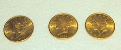 Us 20.00 S Gold Liberty Coins Price For 1 Coin Only 6 Available C1885-